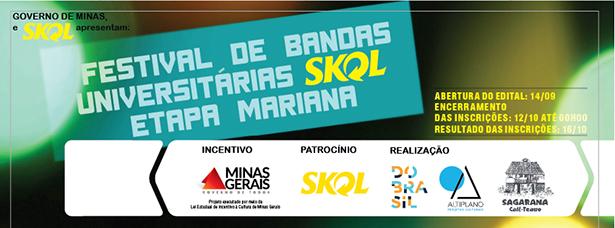 II Festival de Bandas Universitárias – Etapa Mariana