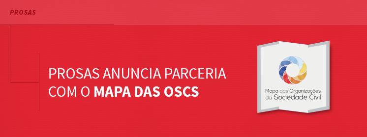 Prosas anuncia parceria com o Mapa das OSCs